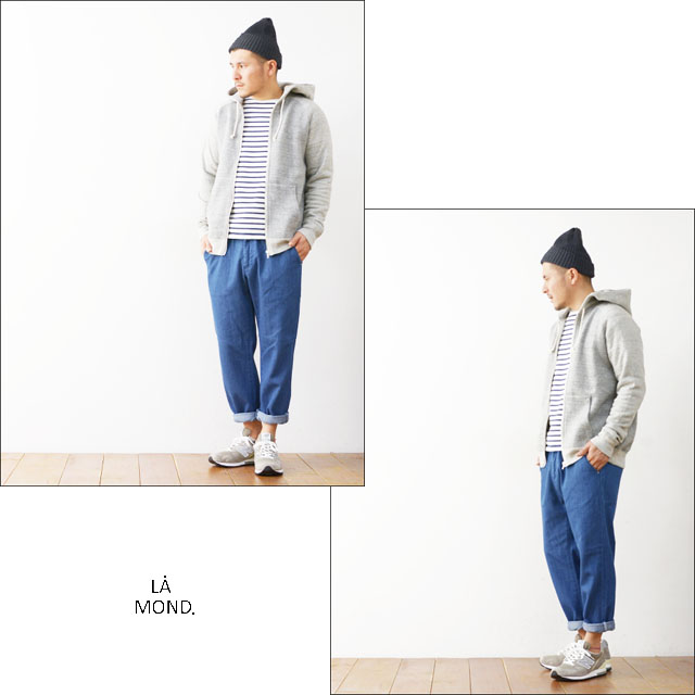 LA MOND [ラモンド] デニムトラウザーパンツ [LM-P-002] MEN\'S_f0051306_127643.jpg