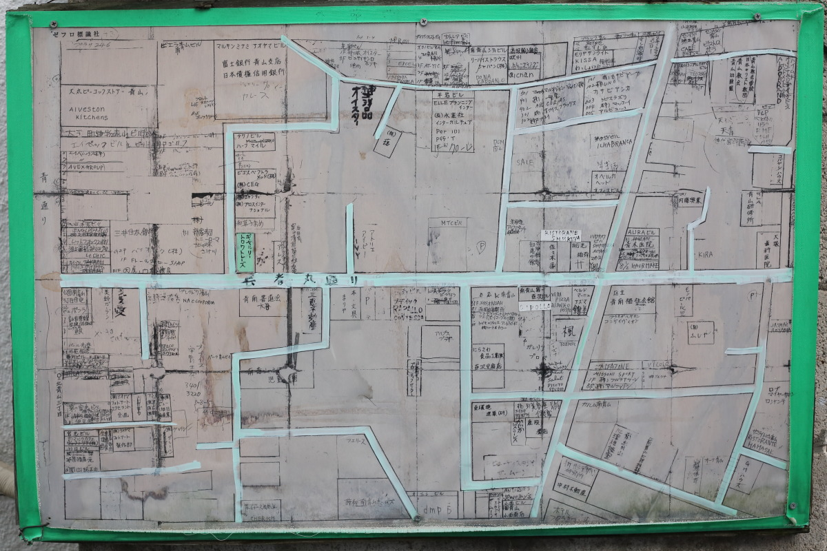 表参道  つくりが雑な手書き案内地図_b0061717_94827.jpg