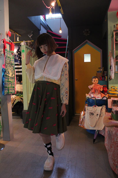 MIKIO SAKABE♡Jenny fax 2015 SS 着てみた_a0262845_16315037.jpg