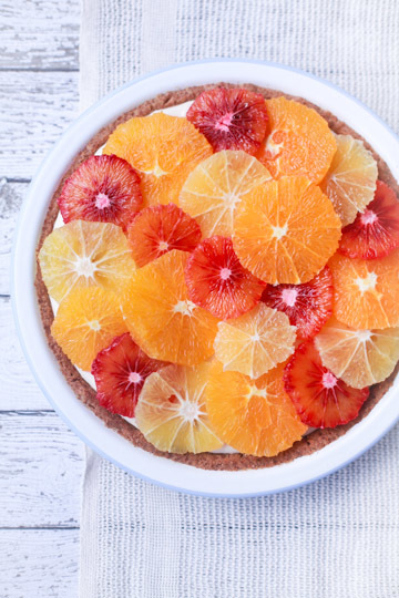 tart fresh orange and yogurt tart a texas tradition was started orange ...