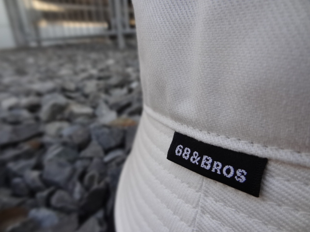 68&BROTHERS 6Panel Short Brim Hat!!!_a0221253_20124767.jpg
