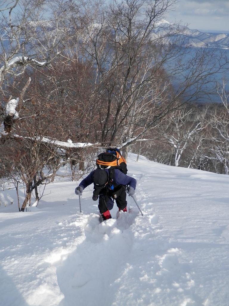 風不死岳、2月26日-同行者からの写真-_f0138096_12511274.jpg