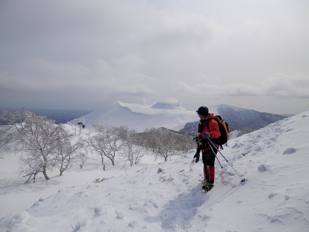風不死岳、2月26日-同行者からの写真-_f0138096_12513525.jpg