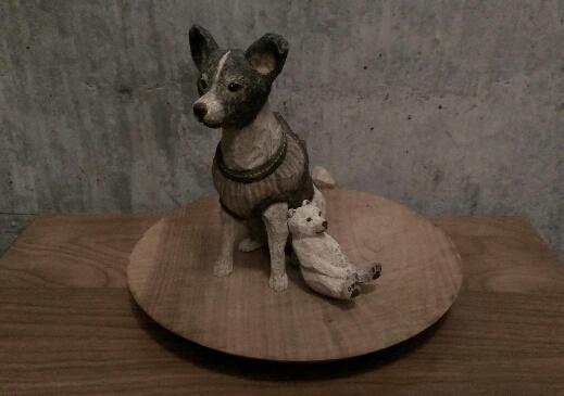 はしもとみおさんの彫刻1_f0351305_1911983.jpg