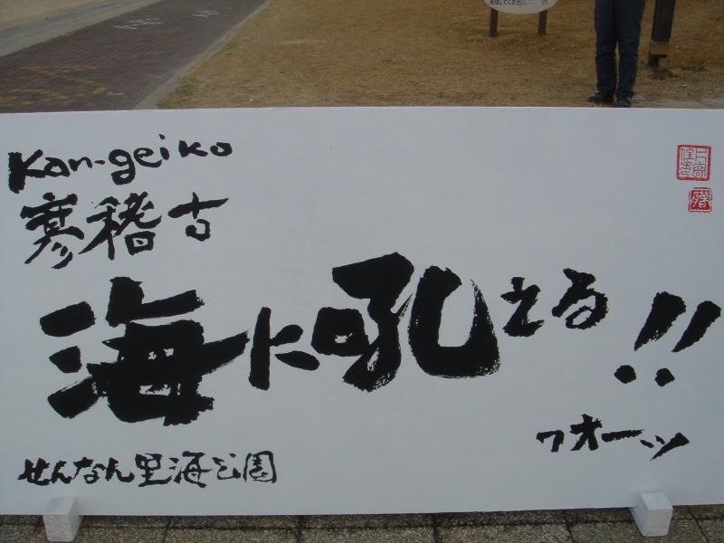 「新春里海まつり2005『海に吼える!』」  by  うみ森の「とんど焼き」_c0108460_23444365.jpg