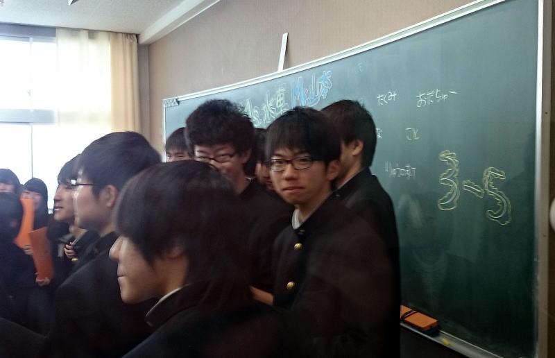 次男坊卒業式_c0108174_171551.jpg