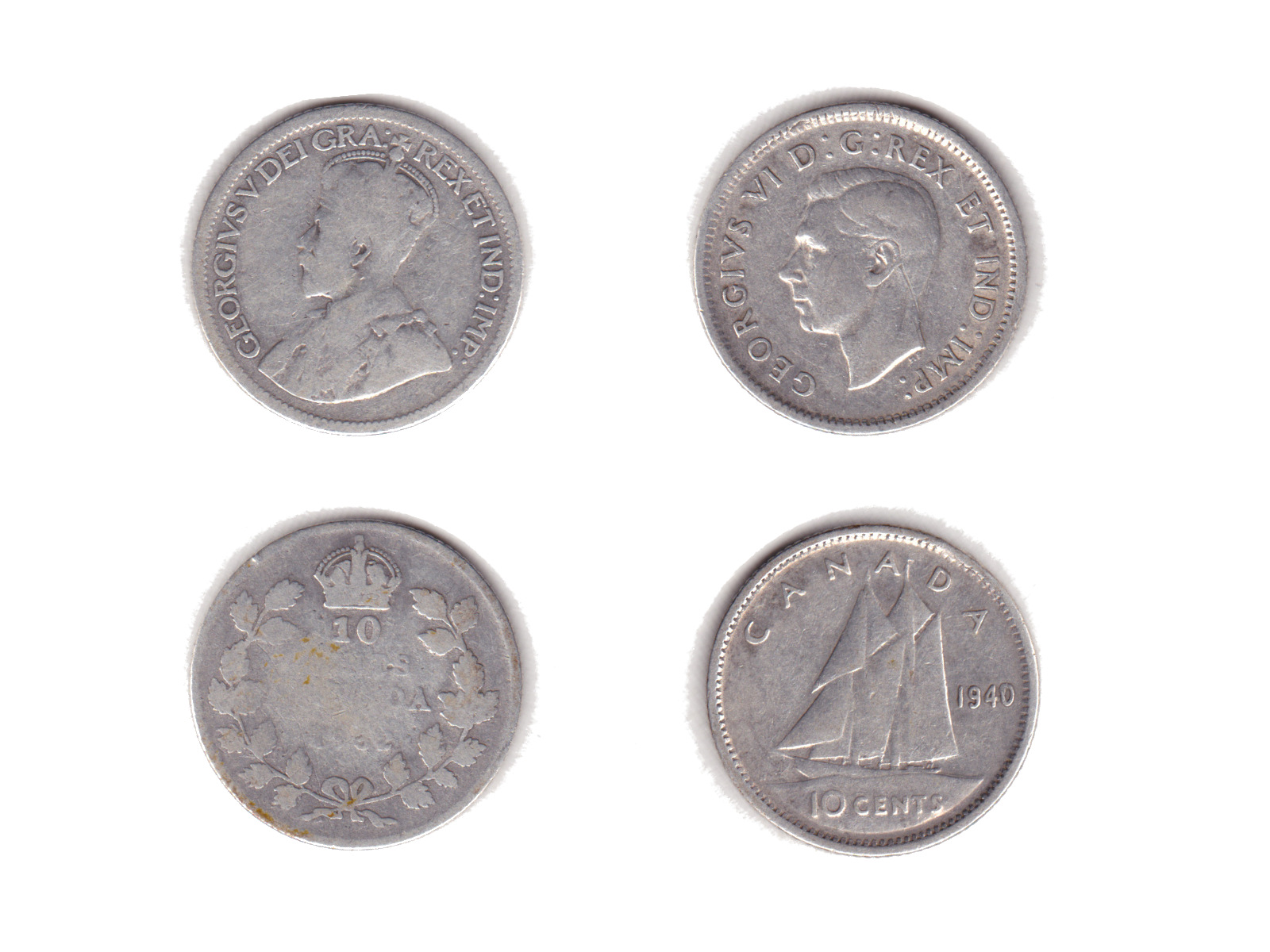カナダ10Centsコイン エリザベス女王の肖像に注目_c0027285_1126252.jpg