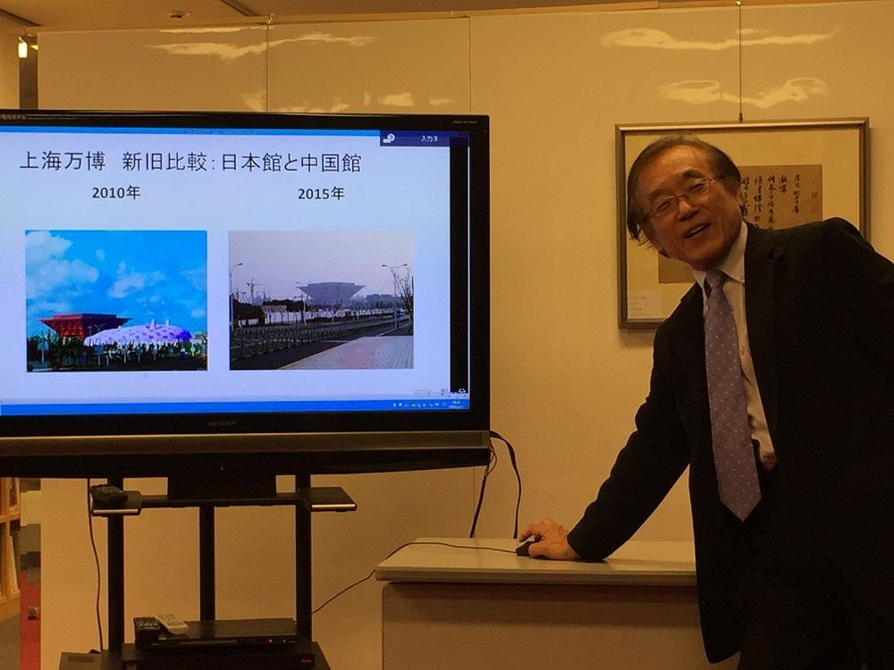 日本馆长江原規由回顾上海世博会,介绍上海的发展变化_d0027795_104828100.jpg