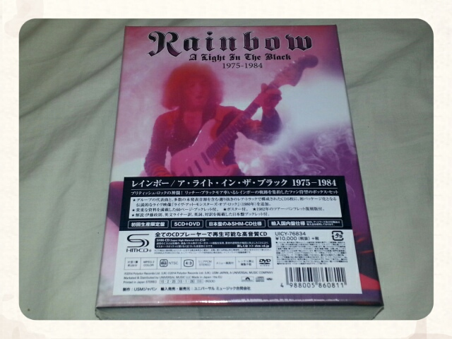 RAINBOW / A LIGHT IN THE BLACK 1975 - 1984 Disc3 & Disc6_b0042308_2345565.jpg