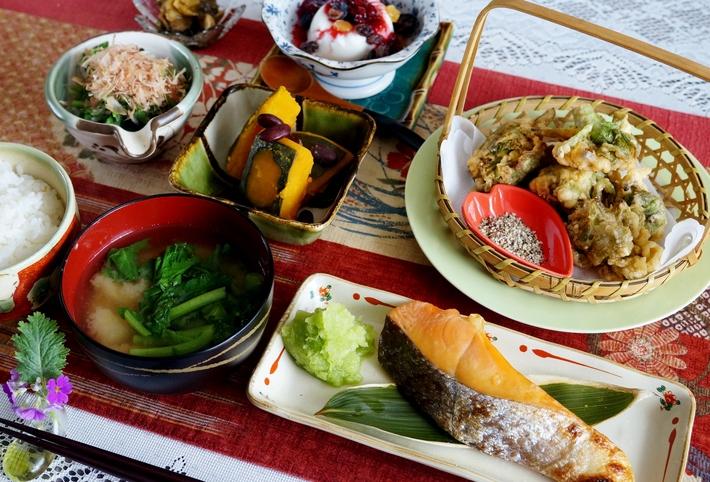 【一人朝ご飯で 簡単な和定食】です♪_b0033423_1811741.jpg