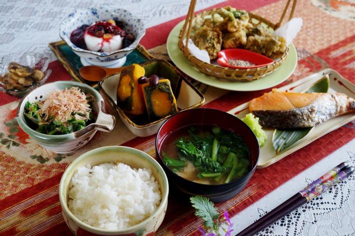 【一人朝ご飯で 簡単な和定食】です♪_b0033423_18185493.jpg