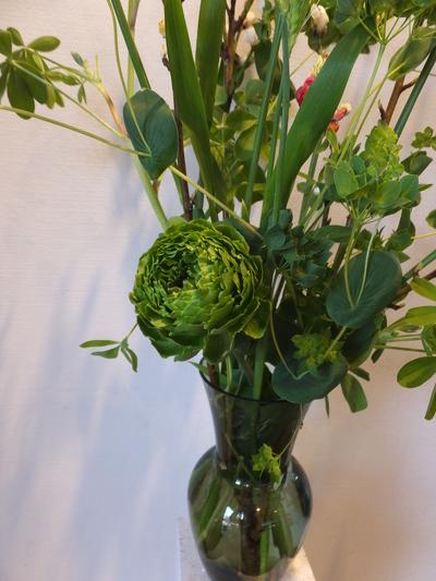 オークリーフ花の教室(春の花木を使って)_f0049672_18481461.jpg