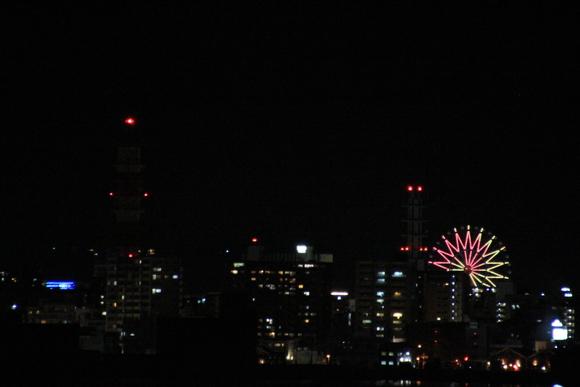 桜島フェリーから見た鹿児島の夜景_d0202264_22512289.jpg