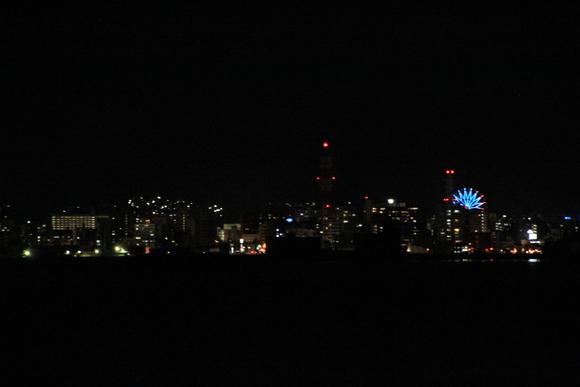 桜島フェリーから見た鹿児島の夜景_d0202264_22541351.jpg