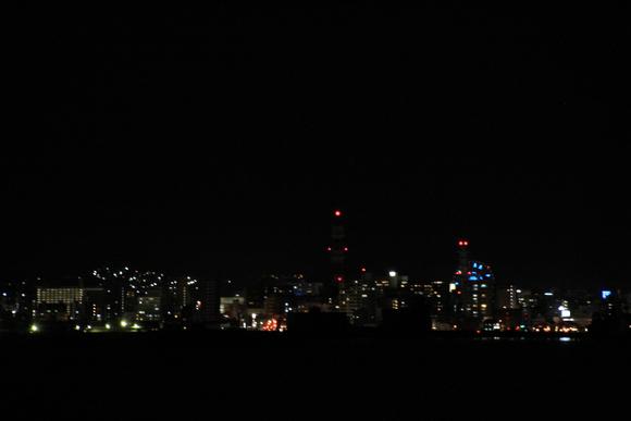 桜島フェリーから見た鹿児島の夜景_d0202264_22544838.jpg