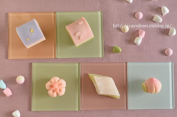 雛祭りの練りきり   Homemade Japanese Sweets of the Doll\'s Festival_d0025294_18272020.jpg