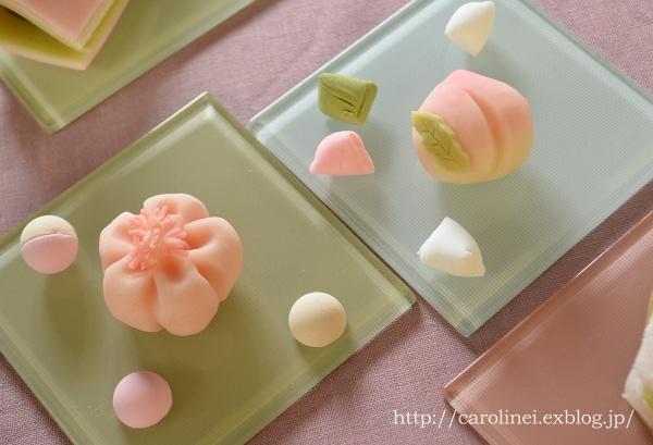 雛祭りの練りきり   Homemade Japanese Sweets of the Doll\'s Festival_d0025294_18273479.jpg