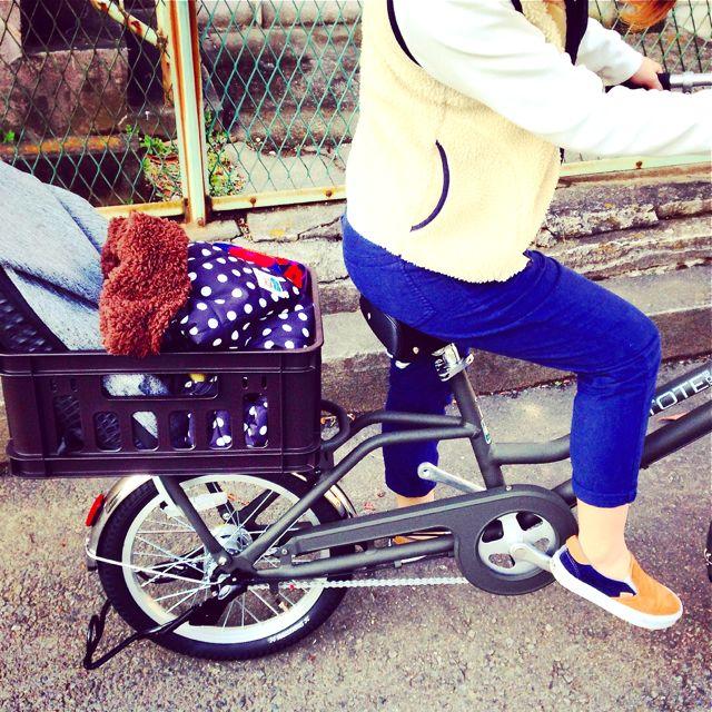 ブリヂストン『TOTE BOX トート ボックス』Yepp ビッケ2e ステップクルーズ bikke2 ママ 自転車 mama _b0212032_2135666.jpg
