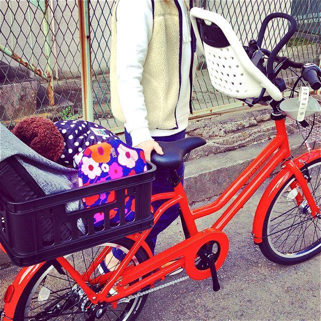 ブリヂストン『TOTE BOX トート ボックス』Yepp ビッケ2e ステップクルーズ bikke2 ママ 自転車 mama _b0212032_2141578.jpg