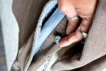 French hunting jacket with animal buttons_f0226051_1327670.jpg