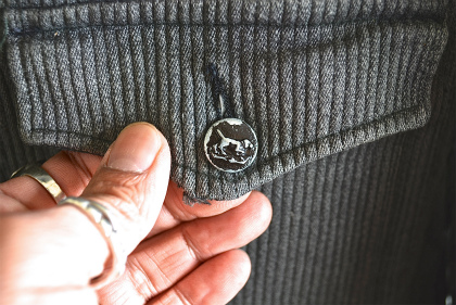 French hunting jacket with animal buttons_f0226051_13532082.jpg