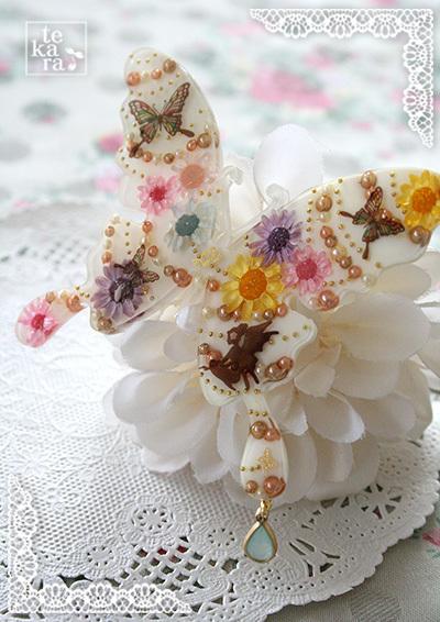 3月の新作紹介その1*Blooming Butterfly*_a0139874_22462094.jpg