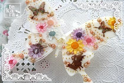3月の新作紹介その1*Blooming Butterfly*_a0139874_22465723.jpg