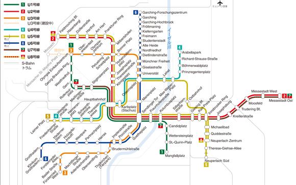 ミュンヘンの地下鉄_d0227799_944463.jpg