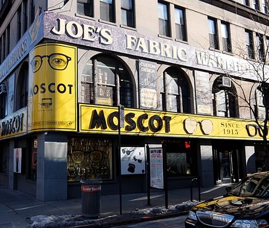 創業100年超のNYの老舗メガネ屋「モスコット」(MOSCOT)、なんと青山の骨董通りに進出!?_b0007805_1144933.jpg