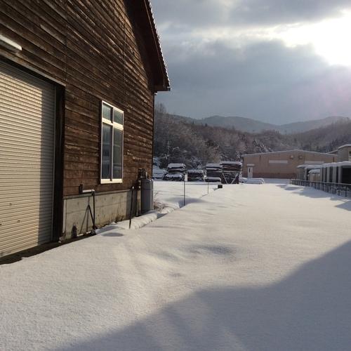 雪の晴れ間_f0192307_20364365.jpg