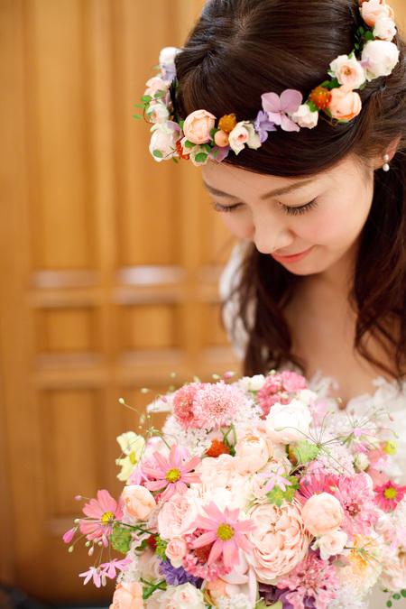 新郎新婦様からのメール エメ・ヴィベール様へ 秋と桜と涙、人生最高の日に_a0042928_2233441.jpg