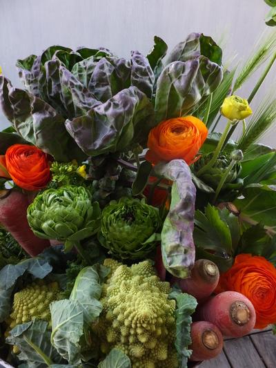 オークリーフ(農家の野菜とお花のアレンジメント)_f0049672_15251768.jpg