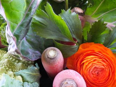 オークリーフ(農家の野菜とお花のアレンジメント)_f0049672_15252521.jpg