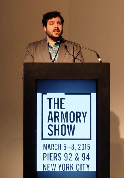 NY最大のアートの展示販売会「アーモリー・ショー」 The Armory Show 2015_b0007805_015479.jpg
