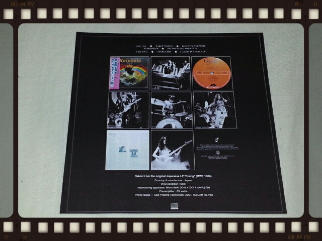 RAINBOW / RISING JAPANESE 1976 ORIGINAL LP_b0042308_034453.jpg