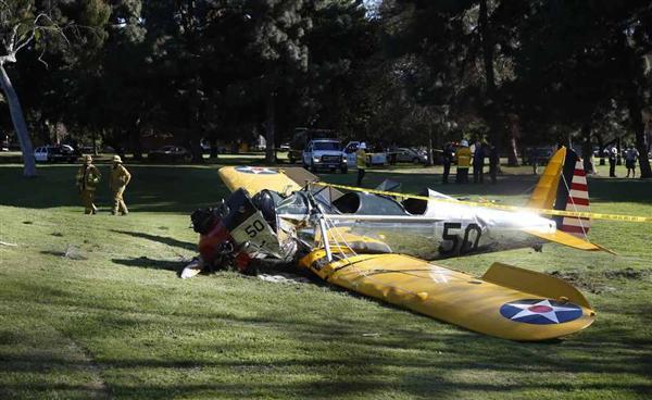 インディー・ジョーンズ墜落!?:ハリソン・フォードさんも寄る年波に勝てず!?_e0171614_18281949.jpg