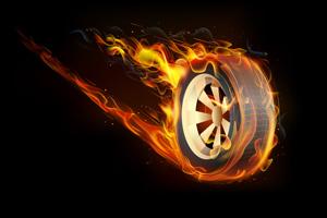 タイヤの悲鳴が聞こえてくるようです。_b0044115_10494872.jpg