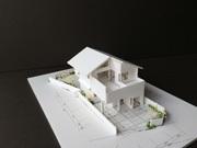 """バイクガレージのある""""遊び場がある2階リビングの家""""の模型をホームページに記載しました_d0082356_10472104.jpg"""