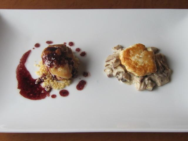 3月の料理「原木椎茸のストロガノフ」_d0177560_21510916.jpg