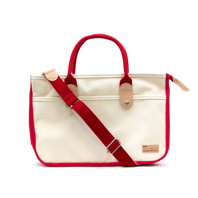 BUDDY 2POCKET TOTE RED_f0111683_17355897.jpg