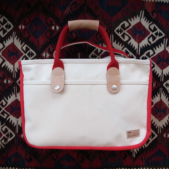 BUDDY 2POCKET TOTE RED_f0111683_17360703.jpg