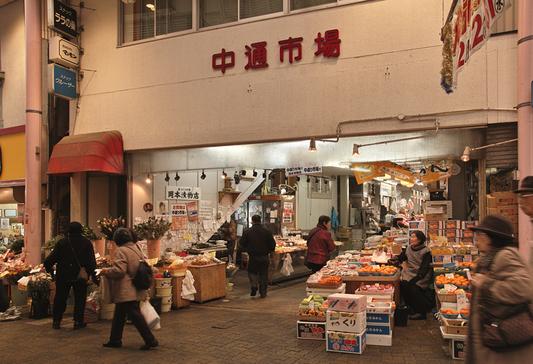 長崎県西浦上「住吉食品市場/中通市場」_a0096313_12414375.jpg