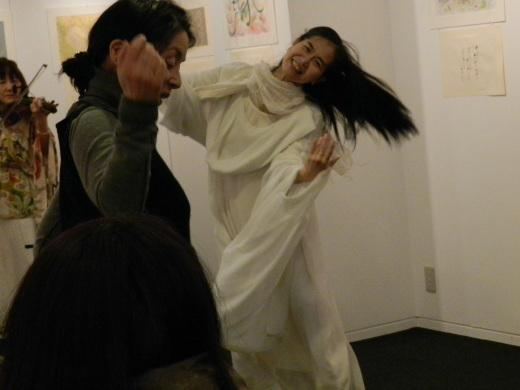 京都ぎゃらりぃ西利さんで三人展しました。_a0088827_18031039.jpg