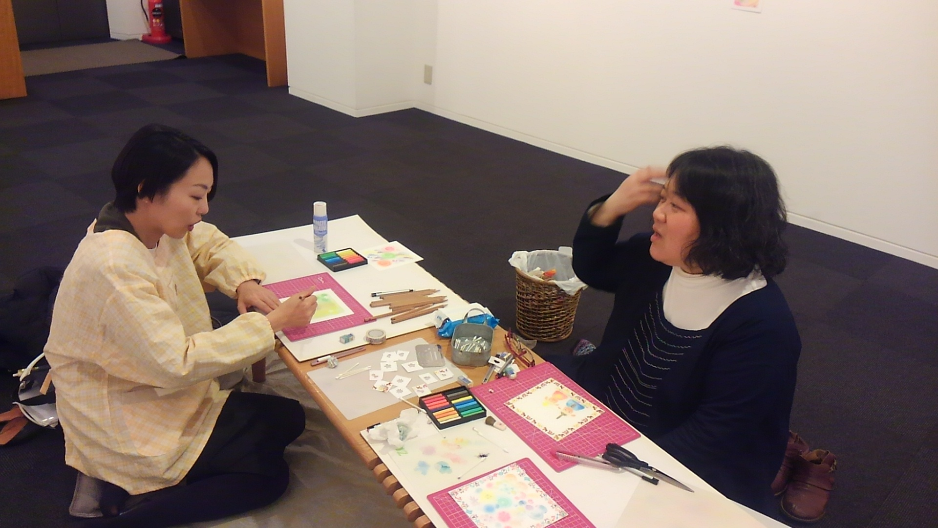 京都ぎゃらりぃ西利さんで三人展しました。_a0088827_18362203.jpg
