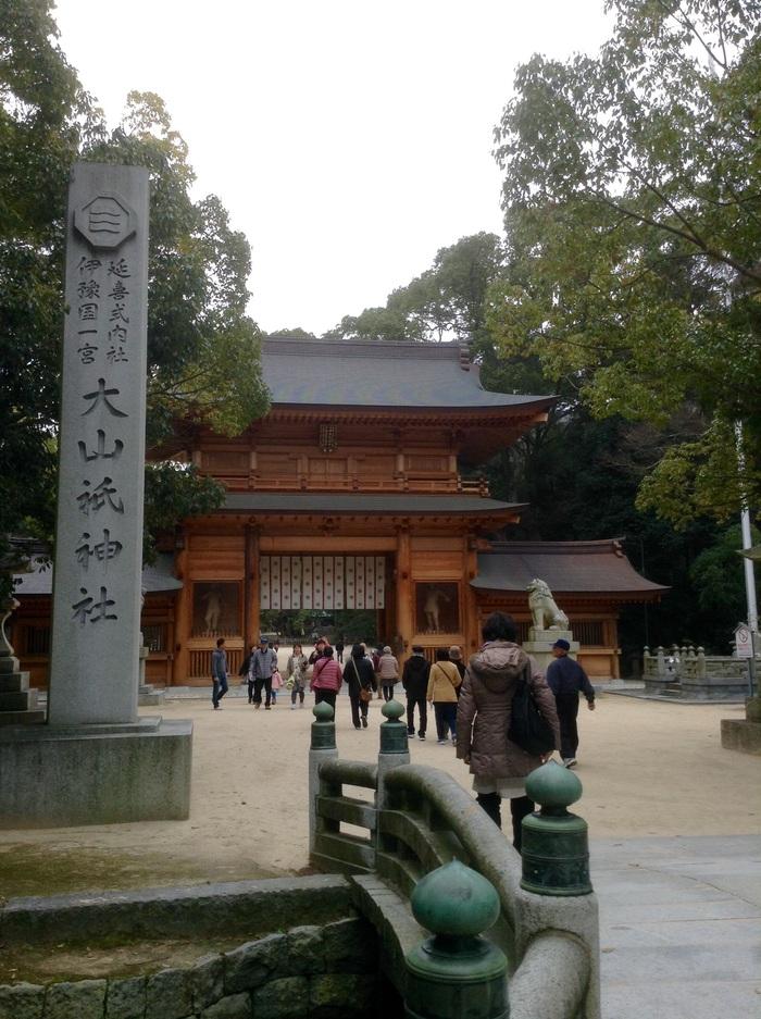 満月の日の大山祇神社参拝◎_f0183846_20141100.jpg