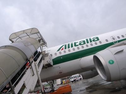 ミラノ~ローマのフライト_d0098022_22423645.jpg