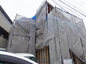 ハピネス吉田ⅡA号地モデルハウス上棟_e0251265_134293.jpg
