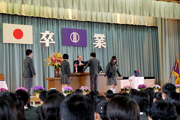 中学校卒業☆_f0098628_19564027.jpg