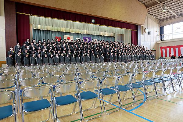 中学校卒業☆_f0098628_19571353.jpg