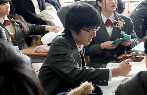 中学校卒業☆_f0098628_1958099.jpg